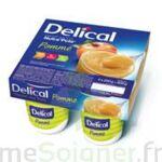 DELICAL NUTRA'POTE DESSERT AUX FRUITS, 200 g x 4 à Lesparre-Médoc