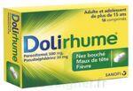 DOLIRHUME PARACETAMOL ET PSEUDOEPHEDRINE 500 mg/30 mg, comprimé à Lesparre-Médoc