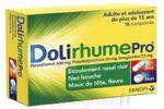 DOLIRHUMEPRO PARACETAMOL, PSEUDOEPHEDRINE ET DOXYLAMINE, comprimé à Lesparre-Médoc