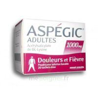 ASPEGIC ADULTES 1000 mg, poudre pour solution buvable en sachet-dose 20 à Lesparre-Médoc