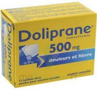 Doliprane 500 Mg Poudre Pour Solution Buvable En Sachet-dose B/12 à Lesparre-Médoc