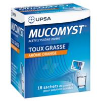 Mucomyst 200 Mg Poudre Pour Solution Buvable En Sachet B/18 à Lesparre-Médoc