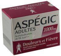 Aspegic Adultes 1000 Mg, Poudre Pour Solution Buvable En Sachet-dose 15 à Lesparre-Médoc