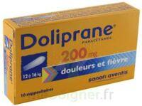 Doliprane 200 Mg Suppositoires 2plq/5 (10) à Lesparre-Médoc