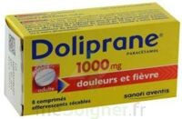 DOLIPRANE 1000 mg Comprimés effervescents sécables T/8 à Lesparre-Médoc