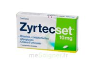 Zyrtecset 10 Mg, Comprimé Pelliculé Sécable à Lesparre-Médoc