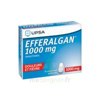 Efferalgan 1000 Mg Comprimés Pelliculés Plq/8 à Lesparre-Médoc