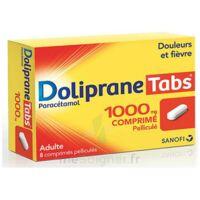 Dolipranetabs 1000 Mg Comprimés Pelliculés Plq/8 à Lesparre-Médoc