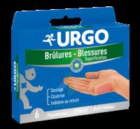 Urgo Brulures-blessures Petit Format X 6 à Lesparre-Médoc