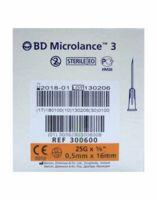 Bd Microlance 3, G25 5/8, 0,5 Mm X 16 Mm, Orange  à Lesparre-Médoc