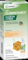 Les Elementaires Solution Buccale Maux De Gorge Adulte 30ml à Lesparre-Médoc