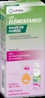 Les Elementaires Spray Buccal Maux De Gorge Enfant Fl/20ml à Lesparre-Médoc