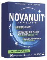 Novanuit Triple Action Comprimés B/30 à Lesparre-Médoc