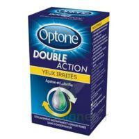 Optone Double Action Solution Oculaire Yeux Irrités Fl/10ml à Lesparre-Médoc