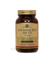 Solgar Vitamine D3 à Lesparre-Médoc