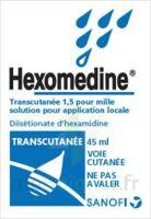 Hexomedine Transcutanee 1,5 Pour Mille, Solution Pour Application Locale à Lesparre-Médoc