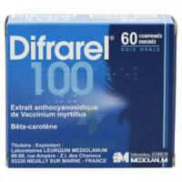 Difrarel 100 Mg, Comprimé Enrobé 6plq/10 à Lesparre-Médoc