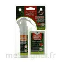 Insect Protect Spray Peau + Spray VÊtements Fl/18ml+fl/50ml à Lesparre-Médoc