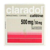 Claradol Cafeine 500 Mg/50 Mg, Comprimé Effervescent à Lesparre-Médoc
