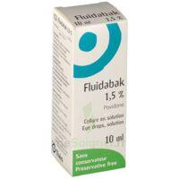 Fluidabak 1,5 %, Collyre En Solution à Lesparre-Médoc