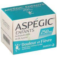 ASPEGIC ENFANTS 250, poudre pour solution buvable en sachet-dose à Lesparre-Médoc