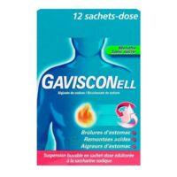 Gavisconell Suspension Buvable Sachet-dose Menthe Sans Sucre 12sach/10ml à Lesparre-Médoc