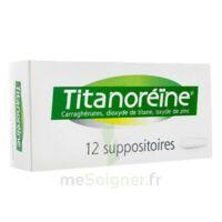 Titanoreine Suppositoires B/12 à Lesparre-Médoc