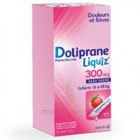 Dolipraneliquiz 300 Mg Suspension Buvable En Sachet Sans Sucre édulcorée Au Maltitol Liquide Et Au Sorbitol B/12 à Lesparre-Médoc