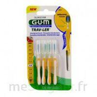 Gum Trav - Ler, 1,3 Mm, Manche Jaune , Blister 4 à Lesparre-Médoc