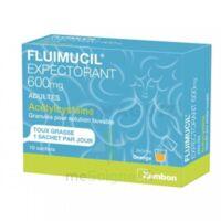 Fluimucil Expectorant Acetylcysteine 600 Mg Glé S Buv Adultes 10sach à Lesparre-Médoc