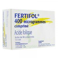 Fertifol 400 µg Cpr Plq/90 à Lesparre-Médoc