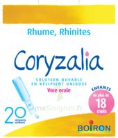Boiron Coryzalia Solution Buvable Unidose B/20 à Lesparre-Médoc