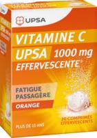 Vitamine C Upsa Effervescente 1000 Mg, Comprimé Effervescent à Lesparre-Médoc